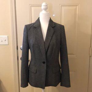DKNY blazer•EUC•Black-Grey•lined•size 4